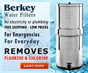 fluoride removing water filter